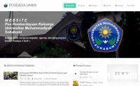 Guna Memperluas Jaringan dan Kelancaran Program, LPPM UMMI Luncurkan Website Posdaya Baru